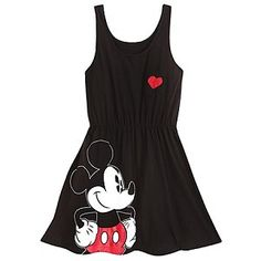 Disney Dress for WOMEN - Mickey Mouse -Black. $52.95