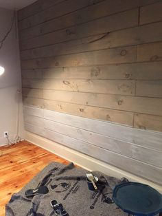 White Washing over stain Front Porch Mercantile Shiplack Walls, Pine Walls, Wood Walls, Stained Shiplap, Faux Shiplap, Tounge And Groove, White Washed Pine, White Wash Walls, Painting Shiplap