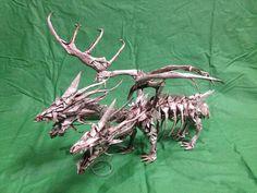3 heads bone dragon by Jaran Darra