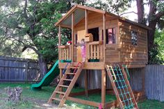 The Mansion is the largest kids cubby house in our range.Not only does the cubby supply ample playing room but as the kids grow older it can double as a storage unit. You can order it on ground level, or elevated with various heights meaning you can add slides or play equipment to turn it into the most awesome kids playground!