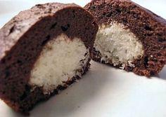 Muffins chocolat à la noix de coco Façon Bounty à réaliser avec votre Thermomix, des petits gâteaux au chocolat au cœur fondant noix de coco.