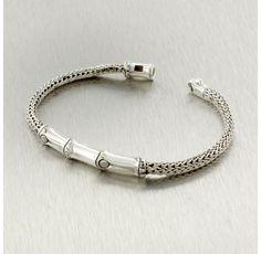 Estate John Hardy Sterling Silver Bamboo Bracelet