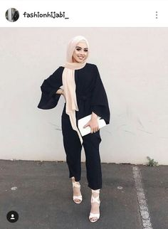 Discover ideas about casual hijab outfit Modern Hijab Fashion, Hijab Fashion Inspiration, Arab Fashion, Islamic Fashion, Muslim Fashion, Modest Fashion, Fashion Outfits, Casual Hijab Outfit, Hijab Chic