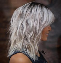 Silver+Shag+With+Black+Roots