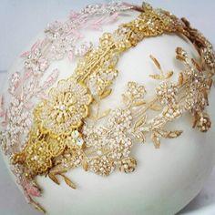 Cherubina bridal headpieces