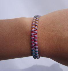 PURPLE Handmade Rainbow Friendship Bracelet by LikeaDream on Etsy, $7.00