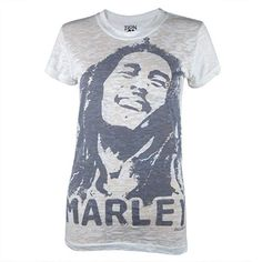 Bob Marley Shirts, Old Glory, Junior, Portrait, Branded T Shirts, The Incredibles, T Shirts For Women, Tees, Fabric