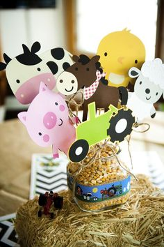 Farm Party Ideas Planning Supplies Idea Cake Decorations Animals