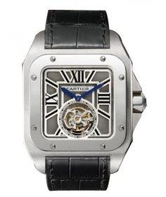 Cartier Santos Tourbillon Watches For Sale