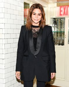 Christine Centenera celebrates the DVF Fall 2017 collection over dinner.