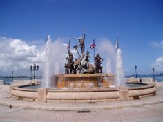 Paseo de la Princesa, San Juan Puerto Rico