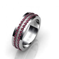 Δακτυλίδι 18Κ δεμένο με Ρουμπίνια Δ0126 Rings For Men, Wedding Rings, Engagement Rings, Jewelry, Fashion, Enagement Rings, Moda, Men Rings, Jewlery