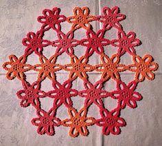 Sale 20% READY TO SHIP Crochet tablecloth  flower by VerLenCrochet