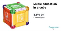 """Help me drop the price of the Munchkin Mozart Magic Cube to $13.00 (52% off). The price continues dropping as more moms click """"Drop the price"""". Moms drop prices of kids & baby products by sharing them with each other."""