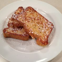 French toast with quinoa bread!