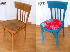DIY déco : Relooker une chaise en bois • Hellocoton.fr