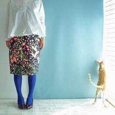 Caturday! Ballet Skirt, Boutique, Floral, Skirts, Fashion, Moda, Tutu, Fashion Styles, Skirt