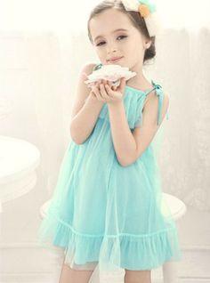 shij082 2013 new fashion korean children girls' dresses-7