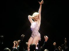 """Zellweger in a dazzling sequined costume as roxie hart in """"Chicago."""""""