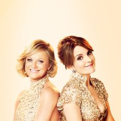 Amy Poehler and Tina Fey. My girlsssssssss Gorgeous Women, Amazing Women, Pretty People, Beautiful People, Sisters Movie, Amy Poehler, Tina Fey, Saturday Night Live, Famous Women