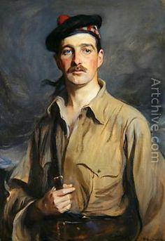 """Philip Alexius De Laszlo's portrait called simply,""""John"""""""