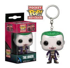 Llaveros Escuadrón Suicida Joker Deadshot Harley Quinn Suicide Squad Keychain