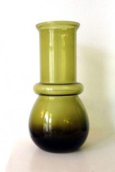 Tamara Aladin Tuulikki Riihimaki/Riihimaen Lasi glasswork vase    - Bought one of these at Woking