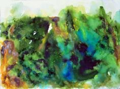 "Saatchi Art Artist subhashis ghosh; Painting, ""Landscape 12"" #art"