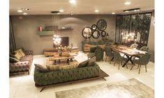 Ashgabat modern dining room Balhome furniture - My sweet home - My Living Room, Living Room Decor, Living Spaces, Dining Room, Dining Table, Sweet Home, Decoration Table, Living Room Designs, Home Accessories