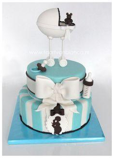 Babyshower cake by taart van Bianca