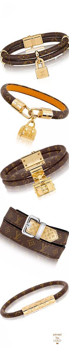 Louis Vuitton Leather Bracelets