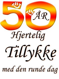 50 år fødselsdag Birthday Pictures, Birthday Images, Birthday Wishes Funny, Happy Birthday, Norwegian Style, Humor, Sange, Diy, Gifts