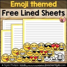 Implausible Free Writing Pages – Emoji Theme Best Picture For Coloring Pages geometric For Your Taste You are looking for something, and it is going. All Emoji, Emoji Coloring Pages, Free Emoji, Types Of Lines, Back 2 School, Writer Workshop, Letter Size, Teacher Pay Teachers, Crafty