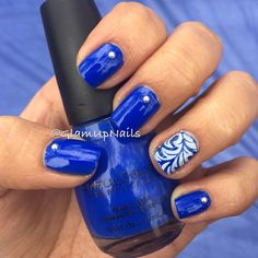 I been looking for a vibrant blue.. And I believe I found it.  This one it's called #endlessblue by @sinfulcolorsprofessional  @sinfulcolors_official !! #blue  #hashtags #instanails #nailartaddict #nailartoftheday #nailpolishaddicts #nailartofinstagram #nailartheaven #nailartjunkie # #naildesign #nailpictures #instamani #notd #nailart  #nailpolish  #nails  #nailart  #thenailartstory #nailpictures #instamani #instanails #glamupnails