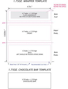 free candy bar wrapper template for word.html