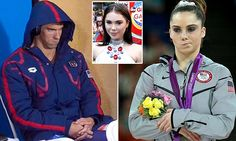 McKayla Maroney gives up her Olympic meme crown to Michael Phelps #DailyMail