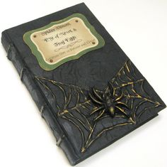 Potions and Elixirs Textbook - Halloween Decor - Recycled Book on Etsy, $39.95