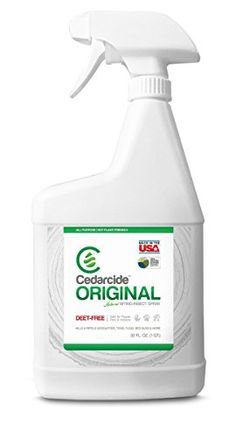 #love #food #CedarCide Original Biting Insect Spray is a natural product made from Texas cedar oil and hydrated silica. Thats it. It keeps the insects and pests ...