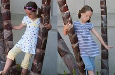 """lots of great homemade """"patterns"""" (ie - instructions) for making many outfits"""