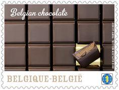 Correio da Bélgica lança selos com perfume e sabor de chocolate.