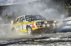 1984 Audi Sport Quattro Rallye | Stig Blomqvist at the wheel… | Flickr
