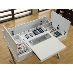 Hollow-core 'Connect-It' White 48-inch Tablet Desk