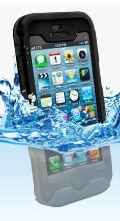 Incipo Atlas Waterproof Case - iPhone 5 - Black
