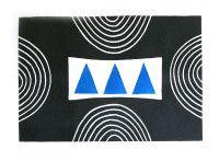 Breon O'Casey Three Blue Triangles
