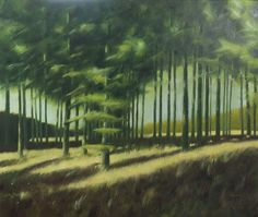 Painting: Rob Donders   Oil on canvas - BERGERBOS