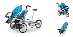 Taga Child Carrier Bike and Luxury Baby Stroller In One - this would be awesome! (approx $1500)
