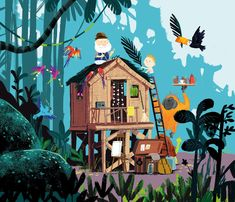 Exploring the power of picture books with…Benji Davies Kleiner Muck, Illustration Mignonne, Children's Book Illustration, Illustration For Children, Illustrations And Posters, Cute Art, Les Oeuvres, Illustrators, Concept Art