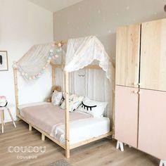 Girl Room, Baby Room, Ikea Kids Bedroom, Ikea Hack Kids, Ikea Hacks, Kids Room Design, New Room, Toddler Bed, Interior Design