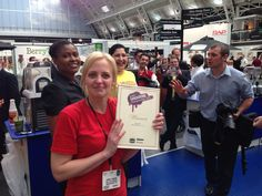 ShakeTastic win The British Smoothie Championships for the 3rd time today in London!