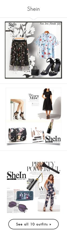 """""""Shein"""" by zerina913 on Polyvore featuring shein, By Lassen, Élitis, Bobbi Brown Cosmetics and Pier 1 Imports"""